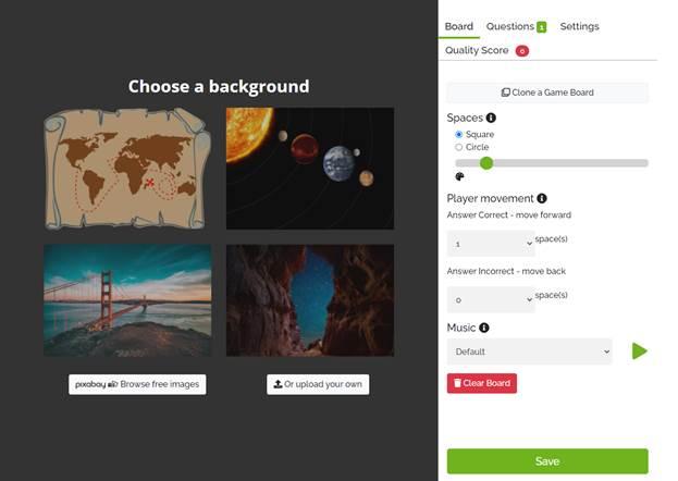 Quizwhizzer: конструктор онлайн-ходилки