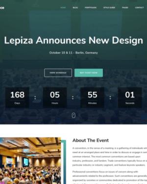 The Conference - бесплатная тема wordpress