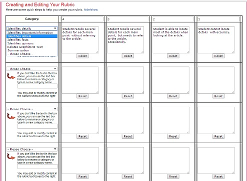 Rubrics For Teachers: обзор генераторов